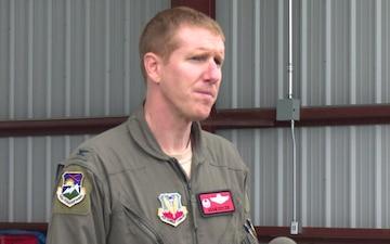 Colonel Adam Sitler interview regarding NORAD Commander visit