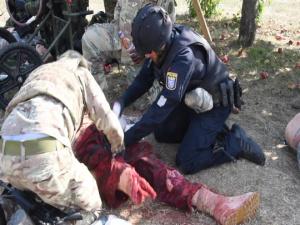 CATC conduct international combat life saver course