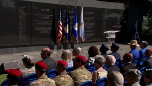 Air Force Officials Commemorate Medal of Honor Recipient