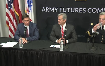 Army Futures Command Press Conference