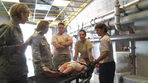 102nd Medical Group Detachment 1 conducts domestic operations training