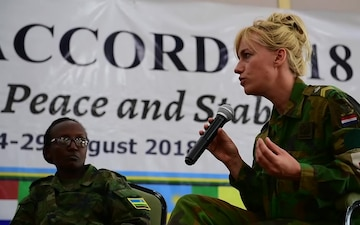 Women in Peacekeeping Operations Panel Discussion (B-Roll Package)