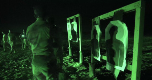 Iraqi Counter-Terrorism Service M4 Night Qualification