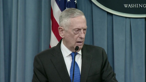 Defense Secretary, Chairman of the Joint Chiefs of Staff Pentagon Briefing