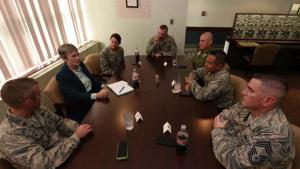 SECAF Visit to Grand Forks Air Force Base