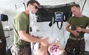 Training to Save Lives | 3rd Medical Bn. participates in NMAP training