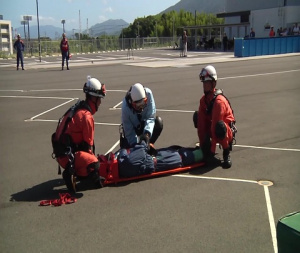 MCAS Iwakuni residents partake in Disaster Preparedness Workshop (B-Roll)