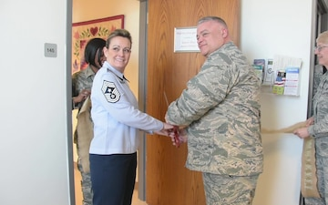 Jefferson Barracks Airmen Open Mother's Room