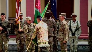 Resolute Support Change of Command Ceremony