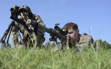 Paratrooper Snipers Shoot