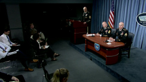 Soldiers Discuss Role of Army in Space