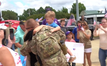 Marksville National Guard unit returns from overseas