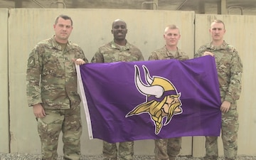 Vikings Shout Out SMSgt Jefferson and Team