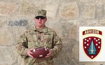 Pittsburgh Steelers Shout Out - Staff Sgt. Hague