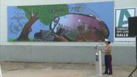 Marine Week Charlotte Mural Unveiling Ceremony