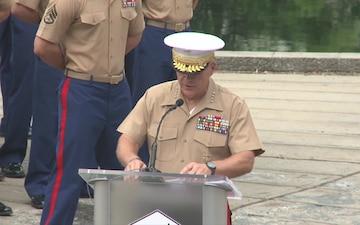 Marine Week Charlotte 9/11 Ceremony