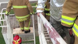 507 CES annual 9/11 fire climb