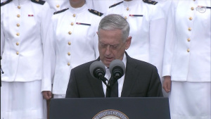 DoD Leaders Host Vice President for Ceremony at National 9/11 Pentagon Memorial