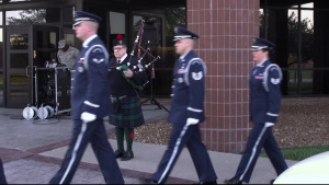 Whiteman 9/11 Wreath Laying Ceremony