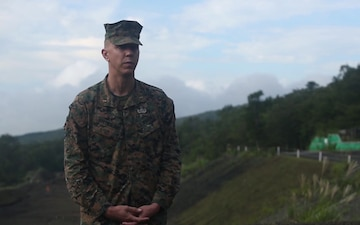 Range is hot   EOD Marines test their ability to disable and dispose of explosives