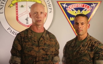 Termination of Evacuation Order for MCRD Parris Island