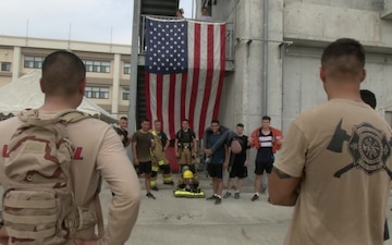 MCAS Iwakuni residents honor those who gave their lives on 9/11 (B-Roll)