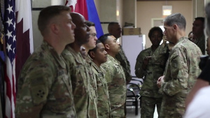 Gen. Votel Visit to CAS