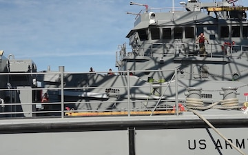 Fort Eustis relocates vessels in advance of Hurricane Florence