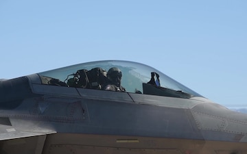 ACC F-22 Raptor Demonstration Team mission video