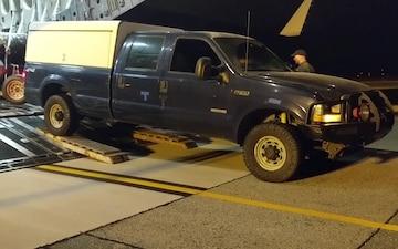 Alaska, California Guard arrive on the East Coast ahead of Hurricane Florence