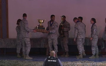2018 AF Defender Challenge Awards Ceremony B-Roll/A-Roll