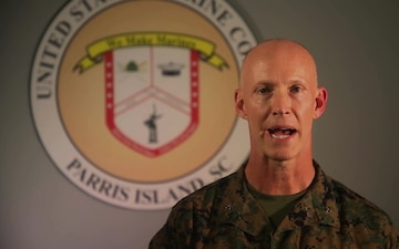 MCRD Parris Island commander provides base update