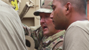 Gov. Hogan thanks MD Soldiers for hurricane readiness