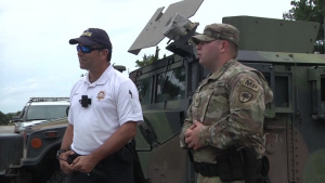 S.C. Military Police Assist Local Authorities