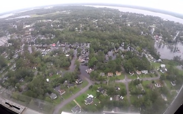B-roll of Hurricane Florence flooding in New Bern, NC