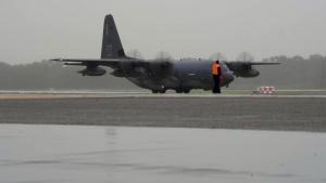 Rescue Squadrons land in Charleston South Carolina