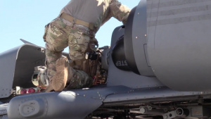 334th AEG HH-60G Prep and Takeoff