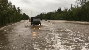Hurricane Flooding in North Carolina