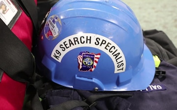 FEMA Indiana Task Force-1 staging at CBP