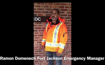 Ramon Domenech Fort Jackson Emergency Manager