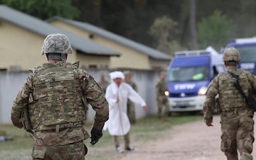 U.S. Army Reserve Soldiers Build Partnership with Bundeswehr, Civilian Forces in Humanitarian Field Training Exercise
