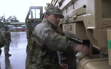 Soldiers at Fort Bragg Move Out to Support People Affected by Hurricane Florence