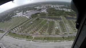 Hurricane Florence Familiarization Flight