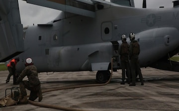Marines assist with Hurricane Florence