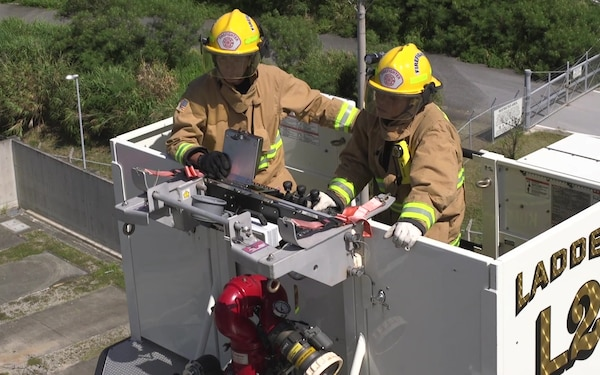 Firefighters Put on a Demonstration