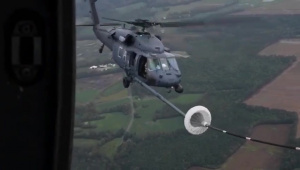Hurricane Florence Aerial Refueling Mission