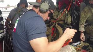 Alaska, California Guardsmen Conduct Rescue Operations in North Carolina