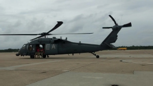 Alaska Guardsmen depart Virginia for rescue operations in North Carolina