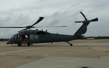 Alaska Guardsmen depart Virginia for rescue operations in North Carolina
