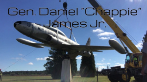 """T-33 Static Aircraft Display Honoring Gen. Daniel """"Chappie"""" James Jr. to be replaced on Joint Base Cape Cod"""